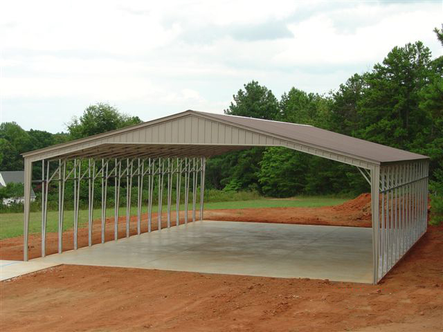 40 Wide Picnic Carport