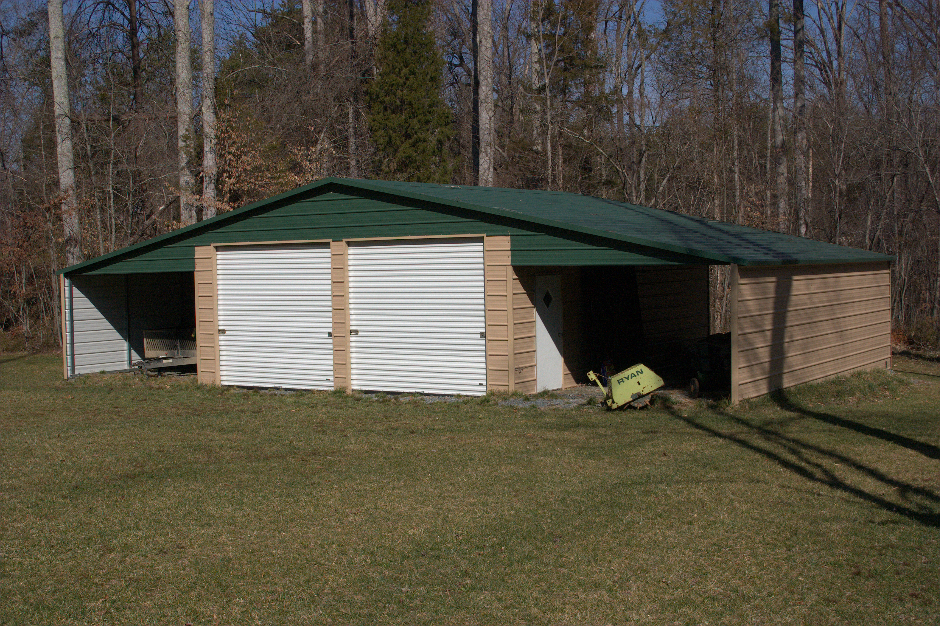 Attached Metal Carports : Florida barn packages