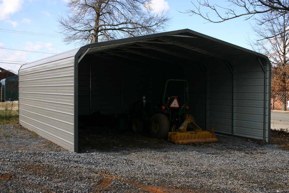 Pennsylvania pa metal carports steel garages pennsylvania pa for Carport ou garage
