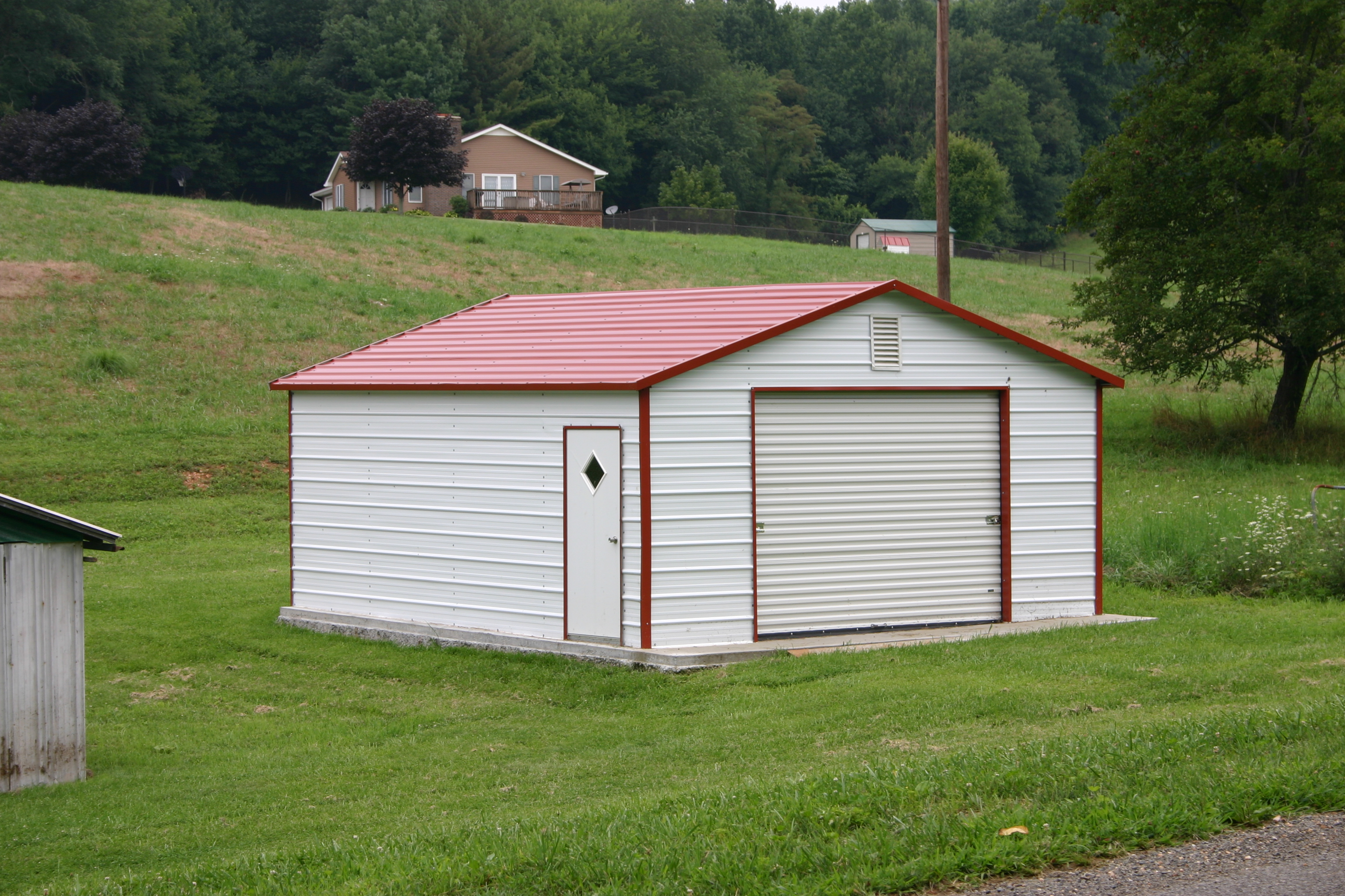Diy Metal Car Port : Altoona pa carports steel pennsylvania