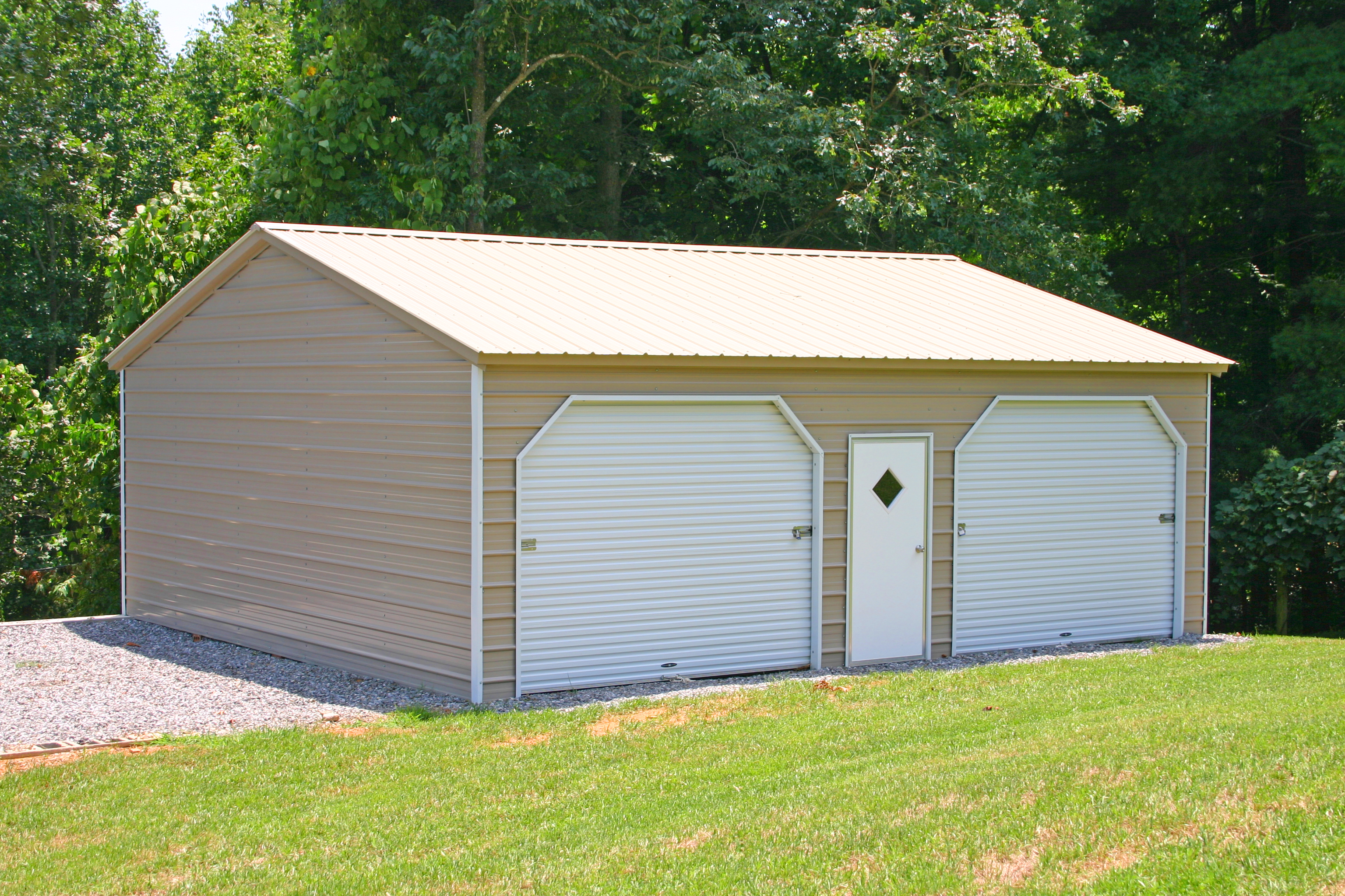 Enclosed Carport