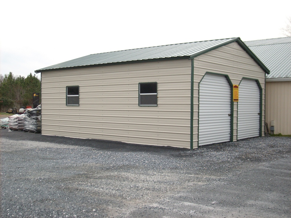 Carports metal carports tennessee tn steel garages for Metal garage pics