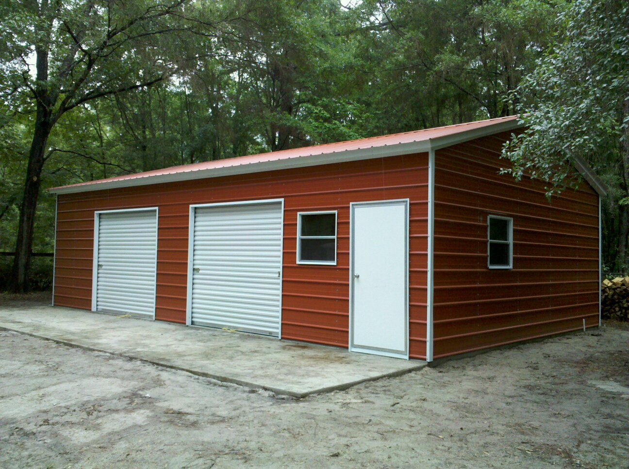 East coast garage packages for Metal garage pics