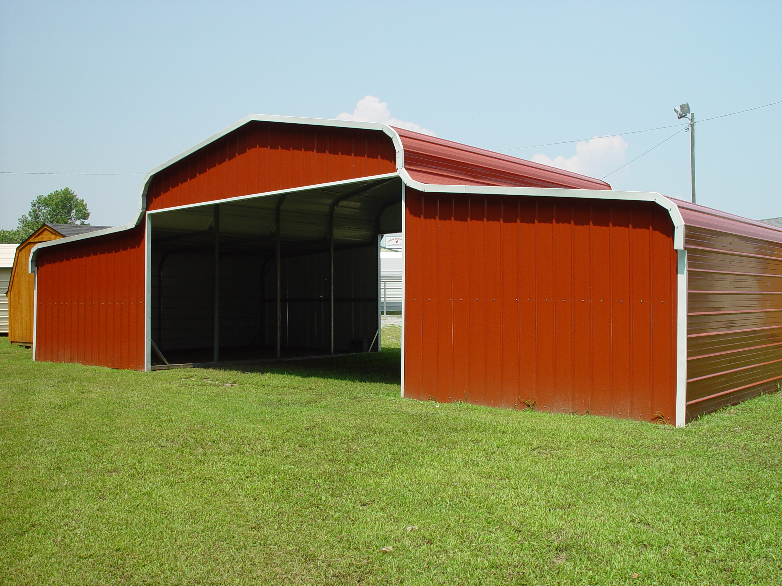 packages horse barns east metal barn coast