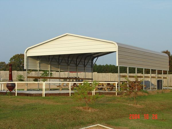 Mississippi MS Steel Carports