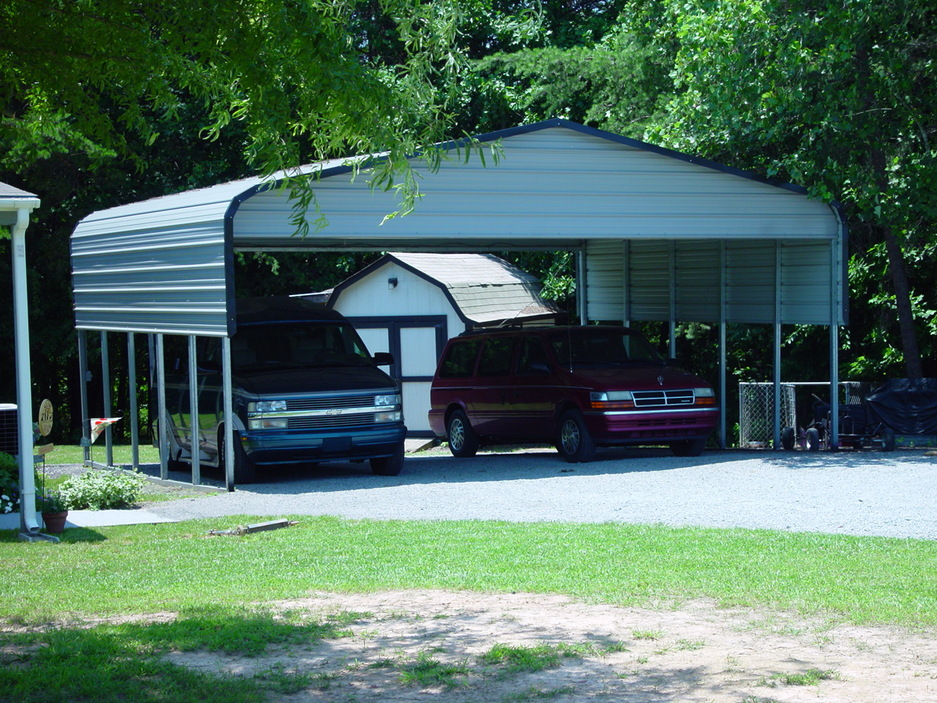 Carolina carports certified amp garages for Garage car port